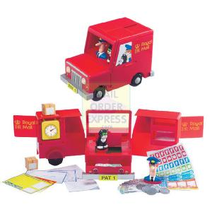 Postman Pat Post Office Set in Carry Case
