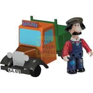 Postman Pat Snap Trax Ted Glen and Truck