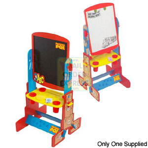 Postman Pat Wooden Double-Sided Easel