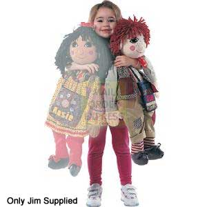 Rosie and Jim Giant Jim Rag Doll