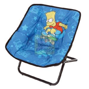 Born To Play Simpsons Metal Folding Chair