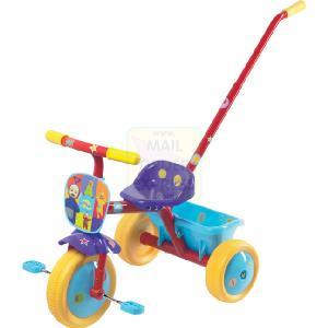 Teletubby Trike with Parent Handle