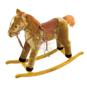 The Pony Stable 60cm Light Brown Rocking Horse
