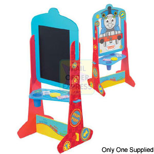 Born To Play Thomas Chalkboard Double Sided Easel