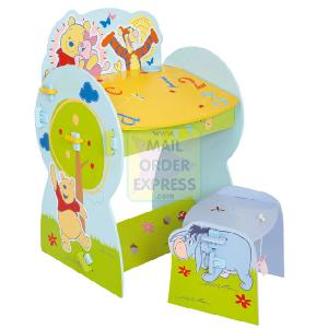 Winnie The Pooh Nature Trail Desk and Stool