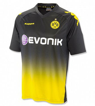 Kappa 2011-12 Borussia Dortmund Kappa Away Football