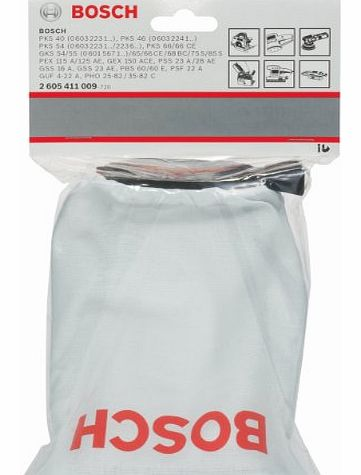 2605411009 Dust Bag for Random Orbit, Belt, Orbital Sanders, Handheld Circular Saws