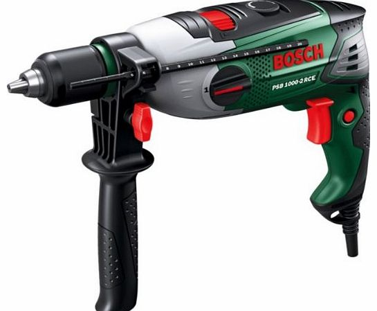 Advanced Bosch PSB 1000 Corded Hammer Drill with Compact Pen 4 in 1 Pocket Screwdriver