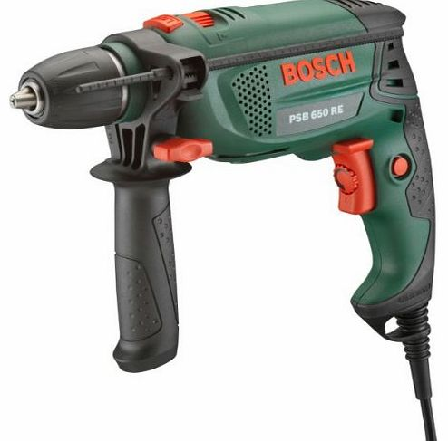 Advanced Bosch PSB Corded Hammer Drill - 650W with Compact Pen 4 in 1 Pocket Screwdriver