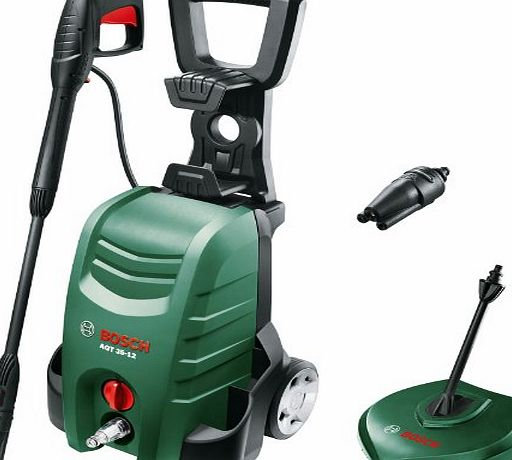Bosch AQT 35-12 PLUS Electric Pressure Washer with Patio Cleaner 120 Bar 1500w 240v   FREE Alloy Wheel Cleaner, Cleaning Wax amp; Patio Cleaner Worth £21.85