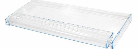 Freezer Front Drawer Panel. Genuine Part Number 663721
