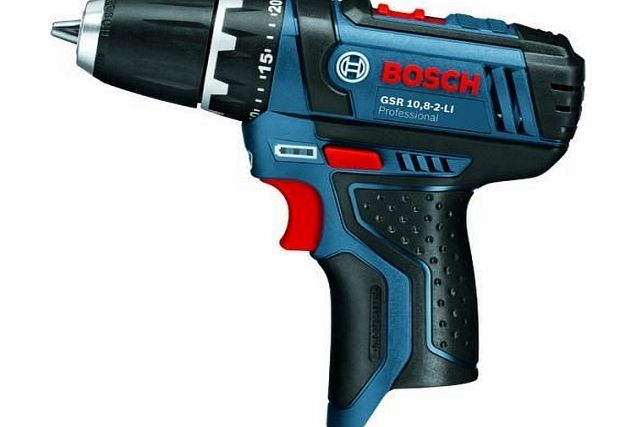 GSR 10.8-2-LI 10.8V Cordless li-ion Drill Driver (Body Only) - Supplied By IDEABRIGHT LTD