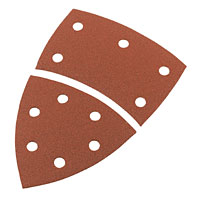 Corner Sander Sheets 120 Grit Pack of 10
