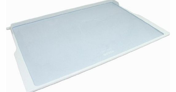 Fridge Freezer White Glass Shelf