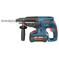 GBH 36 V-LI 36v Cordless SDS Hammer Drill 3 Function   2 Lithium Ion Batteries 2Ah