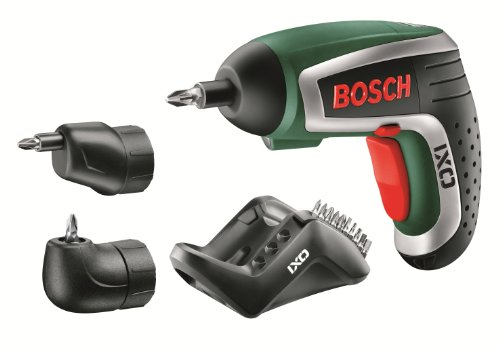 IXO 3.6V Cordless Lithium-Ion Screwdriver with Right Angle Adapter and Easy Reach Adapter