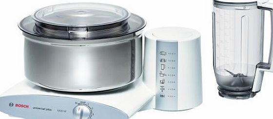 Bosch MUM6N21 food processor - food processors (Stainless steel, White, Plastic, Plastic, Stainless steel)