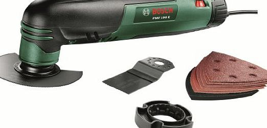 PMF 190 E Multifunctional Allrounder: Oscillating Multi-Tool with Cutting Discs, Saw Blades and Sander Sheets