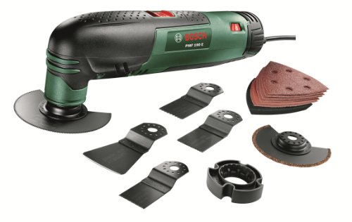 PMF 190 E Multifunctional Allrounder Set: Oscillating Multi-Tool with 13 Accessories