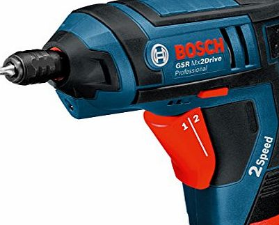 Bosch Professional Bosch Mx2Drive Professional Cordless Drill Driver 3.6 V (includes 2 x 1.3 Ah Lithium Ion Batteries)