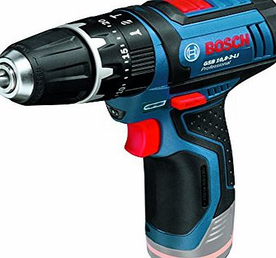 Professional GSB 10.8-2 LI 10.8V Body Only Cordless Li-Ion 2-Speed Combi Drill in Carton