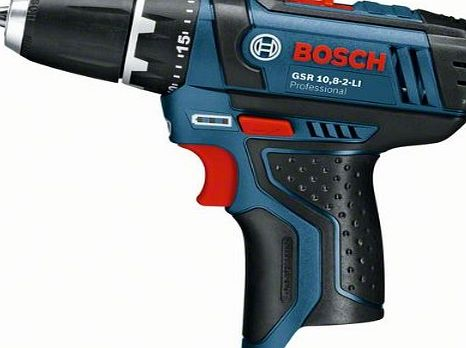 Bosch Professional GSR1082LiN 10.8V Naked Cordless Li-Ion Drill Driver with Keyless Chuck