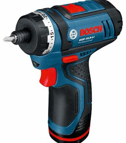 Professional GSR108LiN 10.8V Naked Cordless Li-Ion Drill Driver with Hex
