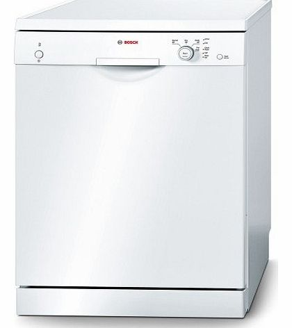 SMS40T42GB 12 Place Freestanding Dishwasher - White