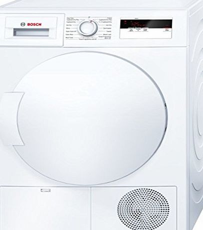 Bosch WTH83000GB 8kg Freestanding Heat Pump Condenser Tumble Dryer White