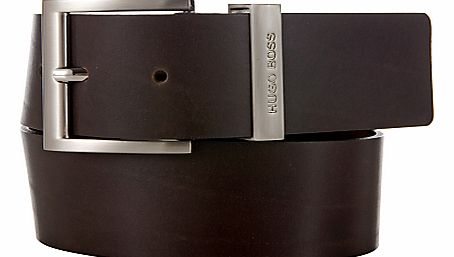 Bud Leather Belt, Brown