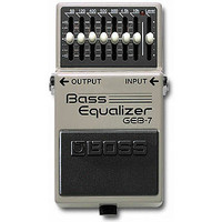 GEB-7 Bass Equalizer Effects Pedal