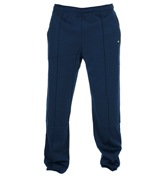 Hainy Dark Blue Retro-Style Leisure Trousers