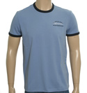 Hugo Boss Airforce Blue and Black T-Shirt (Tox)