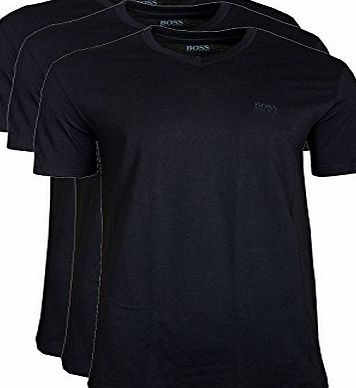 BOSS Hugo Boss Mens T-Shirt VN 3P CO T-Shirt, Black, X-Large