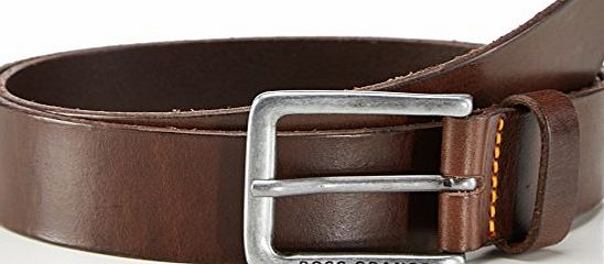 Boss Orange  Mens Jeek Belt, Brown (Dark Brown), 95 cm (Manufacturer size: 100)