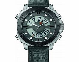 Mens Black and Grey H-6701 Watch