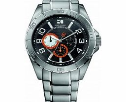 Mens Black and Silver H-2310