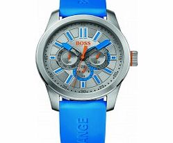 Mens Grey and Blue HO-7000 Watch