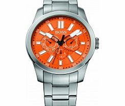 Mens Orange and Silver H-7000
