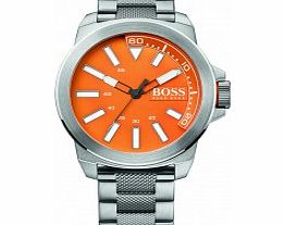 Mens Orange and Silver HO-7010 Watch