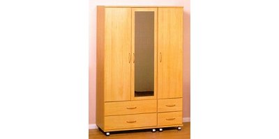 2 Door Wardrobe- Right Hand Fitted