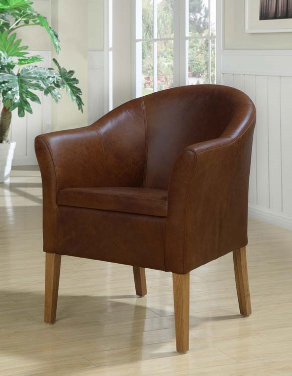 Armchair in Antique Leather