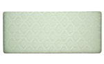 Damask 4and#39;0 Headboard - Light Green