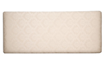 Damask 5and#39;0 Headboard - Oyster
