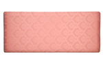 Damask 5and#39;0 Headboard - Pink