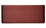 Faux Suede 4and#39;0 Headboard - Plum