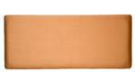 Faux Suede 4and#39;0 Headboard - Tan