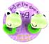 Botd BANG ON THE DOOR 2 FROG SQUEAKY PONYTAIL HOLDERS