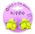 Botd BANG ON THE DOOR HIPPO CLAW HAIR CLIPS