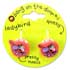 Botd BANG ON THE DOOR LADYBIRD CLAW HAIR CLIP